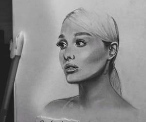 amazing, sketching, and ariana image