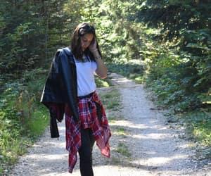 fashion, nature, and black&white image