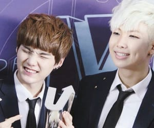 rm, bts, and rapmonster image