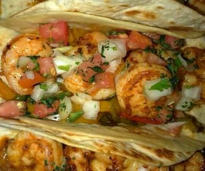 mexican, shrimp, and tacos image