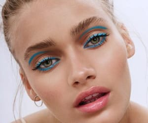 colorful, editorial, and editorial makeup image