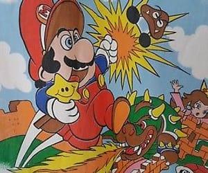 1988, link, and mario bros image