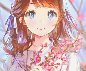 anime girl, aww, and drawing image