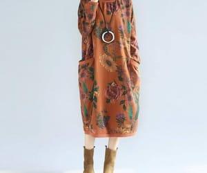 etsy, gray dress, and loose dress image