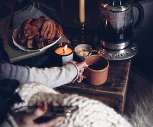 cozy, autumn, and coffee image