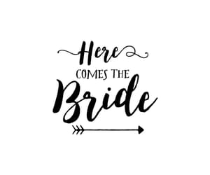 bride, quotes, and text image