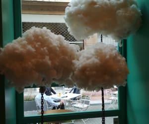 beautiful, clouds, and strange image
