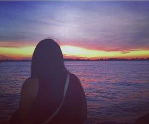 porto alegre, por do sol, and sunset image