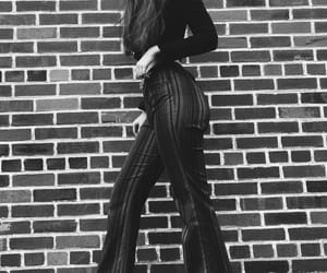 bell bottoms, dance, and fashion image