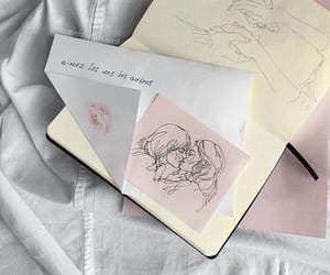 aesthetic, art, and sketch image