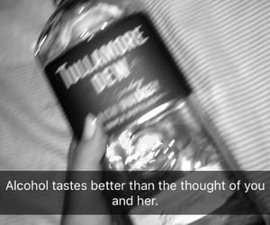 alcohol, black, and quotes image