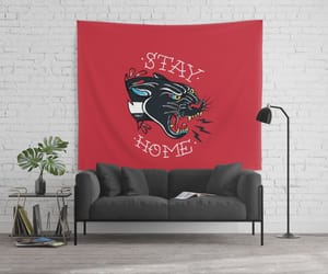 home decor, panther, and tattoo image