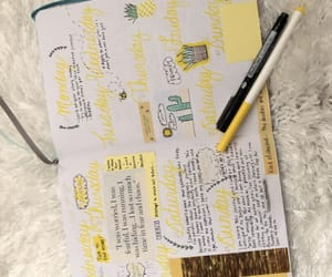 journal, spread, and bullet journal image