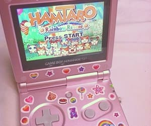 pink, hamtaro, and aesthetic image