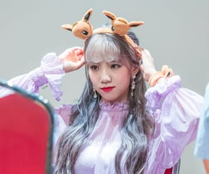 silver hair, yeoreum, and wjsn yeoreum image