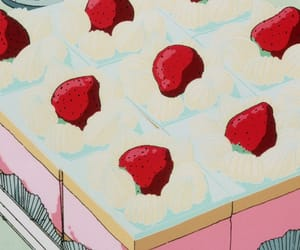 80s, food, and pastel image