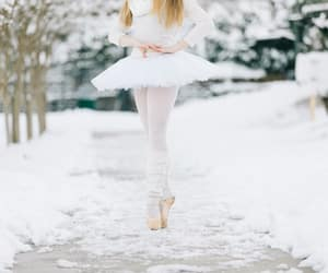 ballet, dancer, and scenery image