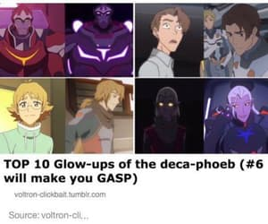 Voltron, glo up, and look at those sweet bois image