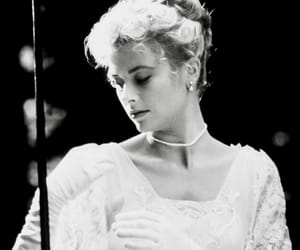 grace kelly, 1950s, and the swan image