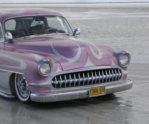 cars, lilac, and vintage image