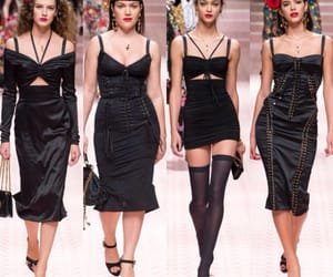 black, classy, and dolce and gabbana image