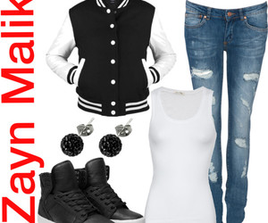 clothing, zayn malik, and one direction image