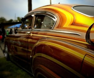 cars, lowrider, and striped image