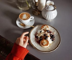 breakfast, delicious, and dessert image