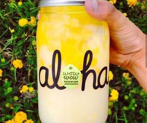 Aloha, hawaiian, and yellow image