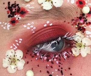 aesthetic, dots, and flowers image