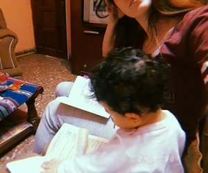 baby, books, and happiness image
