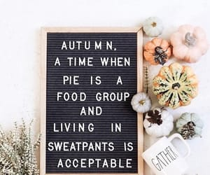 autumn, quotes, and words image