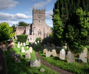 church, devon, and england image