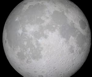 dark, hd, and moon image