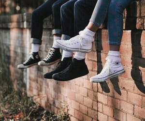 aesthetic, vintage, and converse image