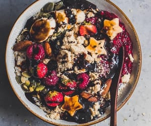 Vanilla Porridge with all the toppings