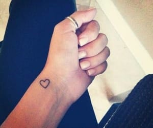 tattoo, heart, and small image