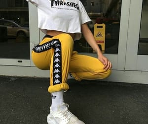 fashion, outfit, and thrasher image