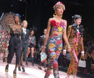 chic, fashion, and fashion show image
