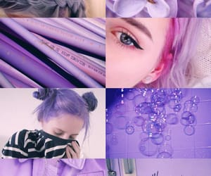 candy, lilac, and my candy love image