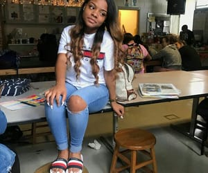 school, cute, and jayda jonae image