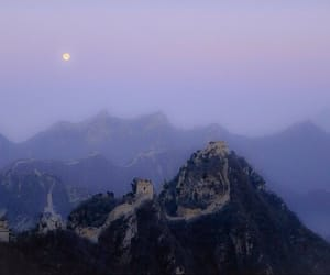 moon, china, and grunge image