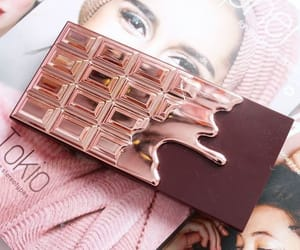chocolate, rose, and rose gold image