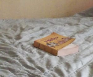 bed, books, and read image