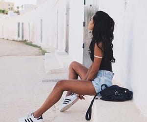 addidas, girl, and style image