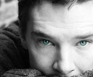 benedict cumberbatch, sherlock, and eyes image