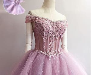 short prom dress, beautiful prom dress, and lace homecoming dresses image