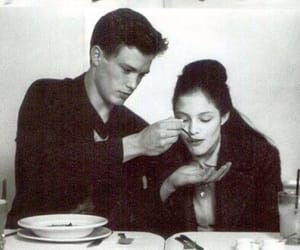 couple, dinner, and girl image