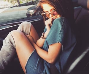 aesthetic, car, and selena gomez image