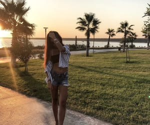 dior, sunset, and love image